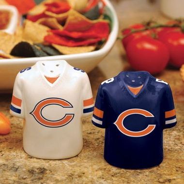 Chicago Bears Ceramic Jersey Salt and Pepper Shakers