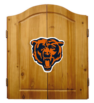 Chicago Bears Complete Dart Cabinet