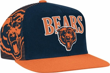 Chicago Bears Double Graphic Laser Stitched Snap Back Hat