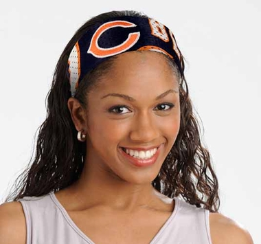Chicago Bears FanBand Hair Band