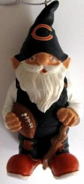 Chicago Bears Gnome Christmas Ornament