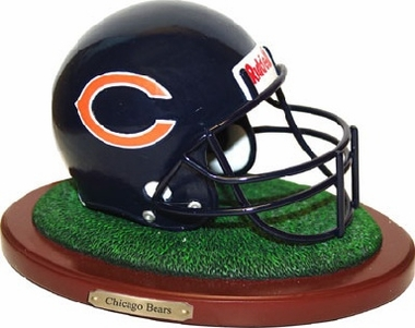 Chicago Bears Helmet Figurine