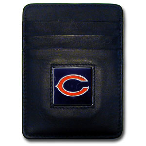 Chicago Bears Leather Money Clip (F)
