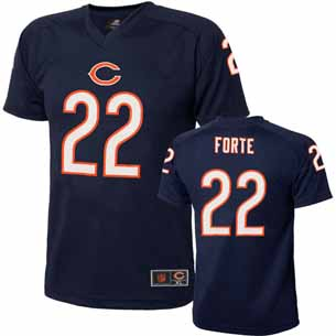 Chicago Bears Matt Forte Youth Performance T-shirt - X-Large