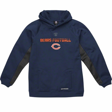 Chicago Bears NFL YOUTH Endurance Performance Pullover Hooded Sweatshirt