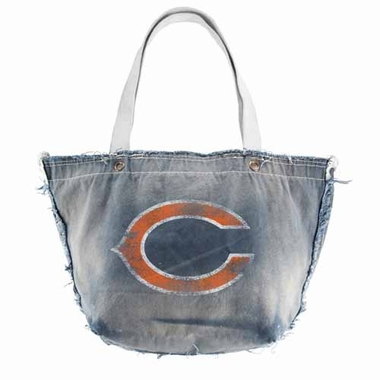 Chicago Bears Vintage Tote (Denim)
