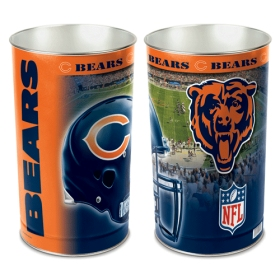 "Chicago Bears 15"" Waste Basket"