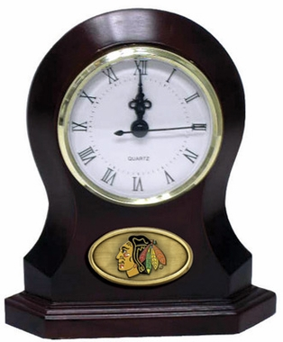 Chicago Blackhawks Desk Clock