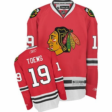 Chicago Blackhawks Jonathan Toews Youth Team Color Replica Jersey