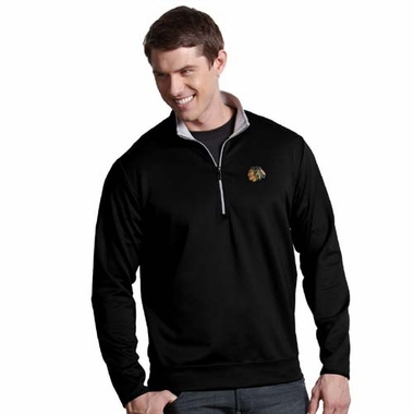 Chicago Blackhawks Mens Leader Pullover (Color: Black)