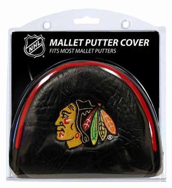 Chicago Blackhawks Mallet Putter Cover