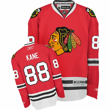 Chicago Blackhawks Patrick Kane Reebok Team Color Premier Jersey