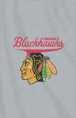 Chicago Blackhawks Sweatshirt Throw Blanket