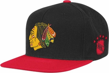 Chicago Blackhawks Throwback Snapback Hat