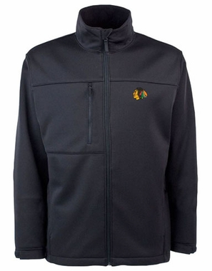 Chicago Blackhawks Mens Traverse Jacket (Color: Black)