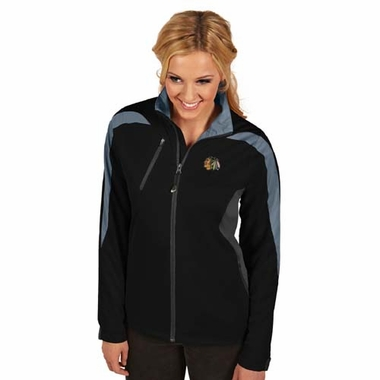 Chicago Blackhawks Womens Discover Jacket (Color: Black)