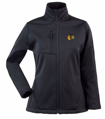 Chicago Blackhawks Womens Traverse Jacket (Color: Black)