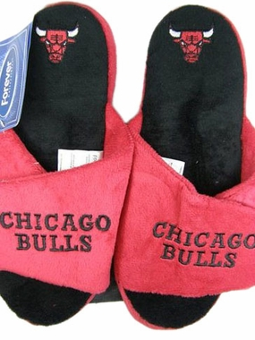 Chicago Bulls 2011 Open Toe Hard Sole Slippers
