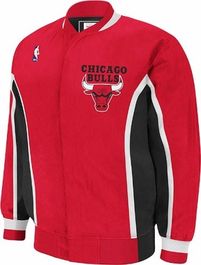 Chicago Bulls Authentic 92-93 Warmup Snap Front Jacket