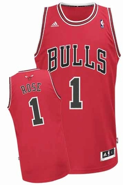 Chicago Bulls Derrick Rose Revolution 30 Swingman Jersey