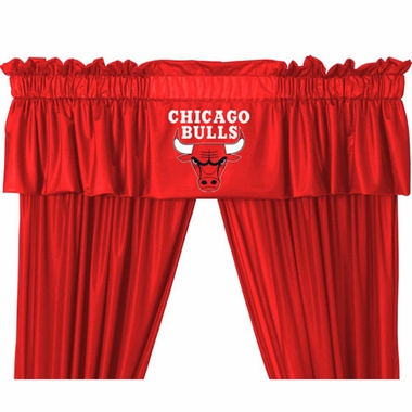 Chicago Bulls Logo Jersey Material Valence