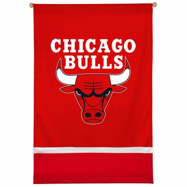 Chicago Bulls SIDELINES Jersey Material Wallhanging
