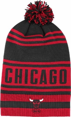 Chicago Bulls Throwback Pom Hat