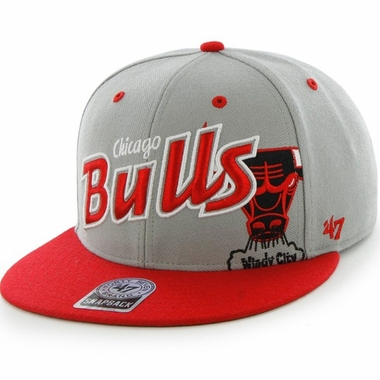 Chicago Bulls Underglow MVP Gray Snap Back Hat