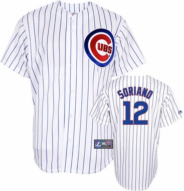Chicago Cubs Alfonso Soriano Replica Player Jersey
