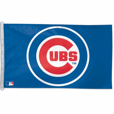 Chicago Cubs Big 3x5 Flag