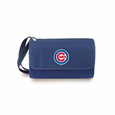 Chicago Cubs Blanket Tote (Navy)
