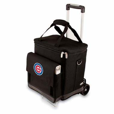 Chicago Cubs Cellar w/ Trolley (Black)