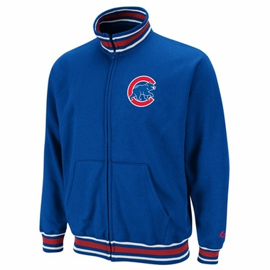 Chicago Cubs Clutch Hitter Full Zip Track Jacket