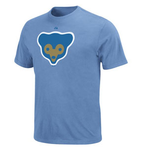 Chicago Cubs Cooperstown Logo T-Shirt - Small