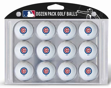 Chicago Cubs Dozen Golf Balls