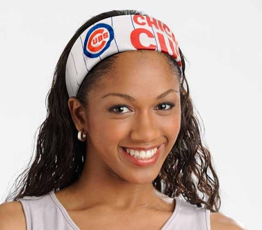 Chicago Cubs FanBand Hair Band