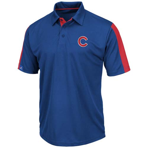 Chicago cubs majestic career maker performance polo shirt for Polo shirt maker online