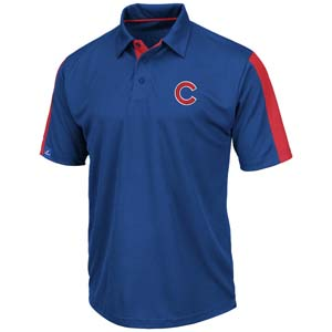 Chicago Cubs Majestic Career Maker Performance Polo