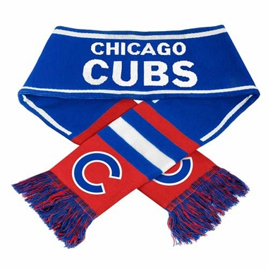 Chicago Cubs MLB 2013 Team Wordmark Knit Scarf