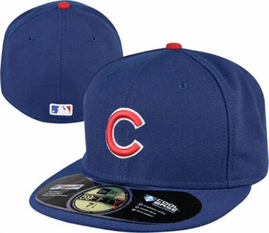 Chicago Cubs New Era 59Fifty Authentic Exact Fit Baseball Cap