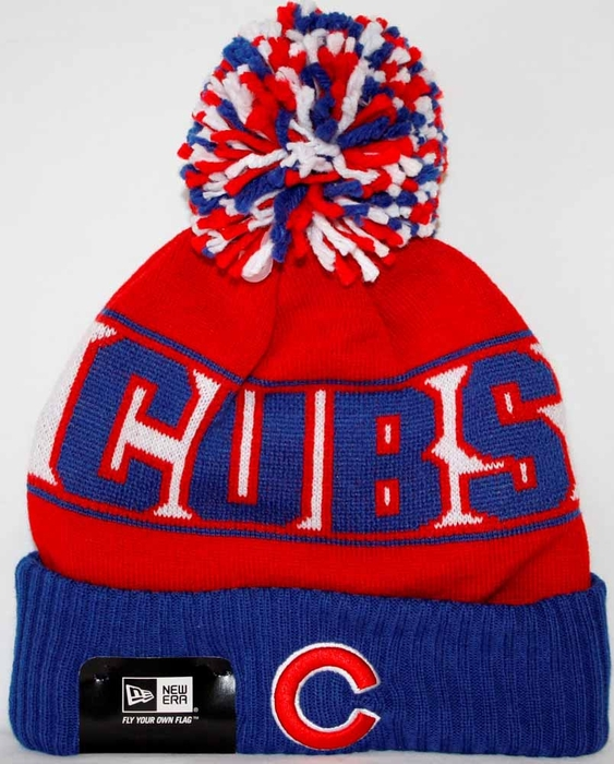 Chicago Cubs New Era Rep Ur Team Cuffed Knit Hat 01a73b130bd