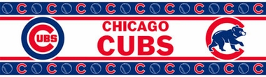 Chicago Cubs Peel and Stick Wallpaper Border