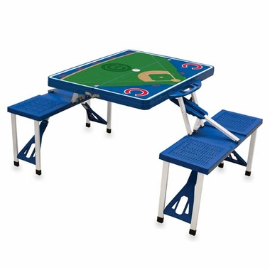 Chicago Cubs Picnic Table Sport (Blue)
