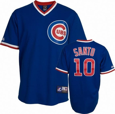Chicago Cubs Ron Santo Replica Throwback Jersey (Alternate)