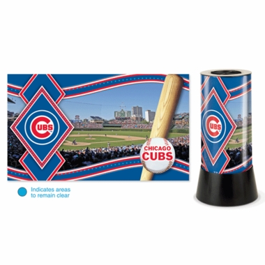 Chicago Cubs Rotating Lamp