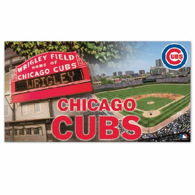 Chicago Cubs Runner Mat