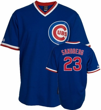 Chicago Cubs Ryne Sandberg Replica Throwback Jersey (Alternate)