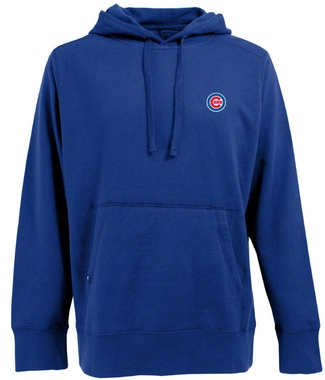 Chicago Cubs Mens Signature Hooded Sweatshirt (Color: Royal)