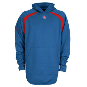 Chicago Cubs Thermabase Hooded Tech Fleece - Large