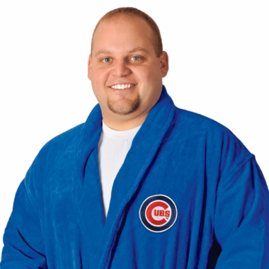 Chicago Cubs UNISEX Bath Robe (Team Color)
